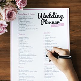 check list organisation mariage